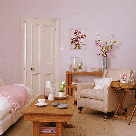 Pink Living Room Ideas: Home Interior Design: Collection Of Country Living Room Styles