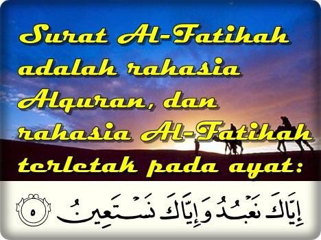 Tafsir Surat Al Fatihah Ayat 5 Iyyakanabudu Wa Iyya
