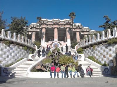 Patrimonio de la Humanidad en Europa y América del Norte. España. Obras de Antonio Gaudí.