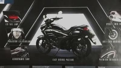 Beberapa fitur Suzuki Intruder 150