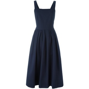 Navy pinafore dress, GBP 532.38 from Jill Sanders