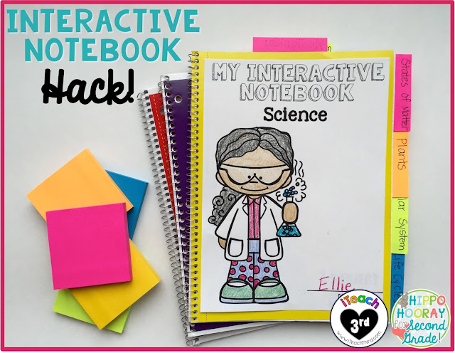 Interactive notebooks are all the rage right now! Check out this blog post for a quick tip you can use tomorrow to make INs easier to implement in your classroom!