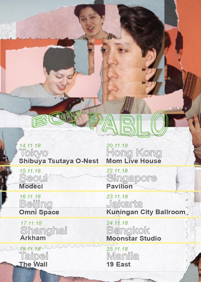 boy pablo tour