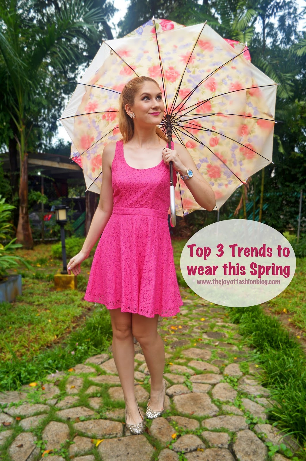 Top 3 trends to wear this Spring 2015!