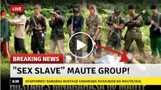 2s7cQiU VIRAL NOW: Panoorin CONFIRMED! mga Babaeng Bihag Ginawang Parausan ng ISIS/Maute Group!