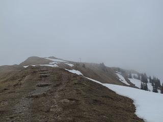 Der Gipfel des Stuiben