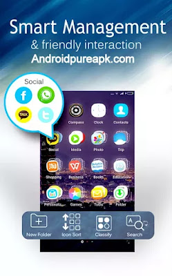 C Launcher – Themes, Wallpaper Apk Download