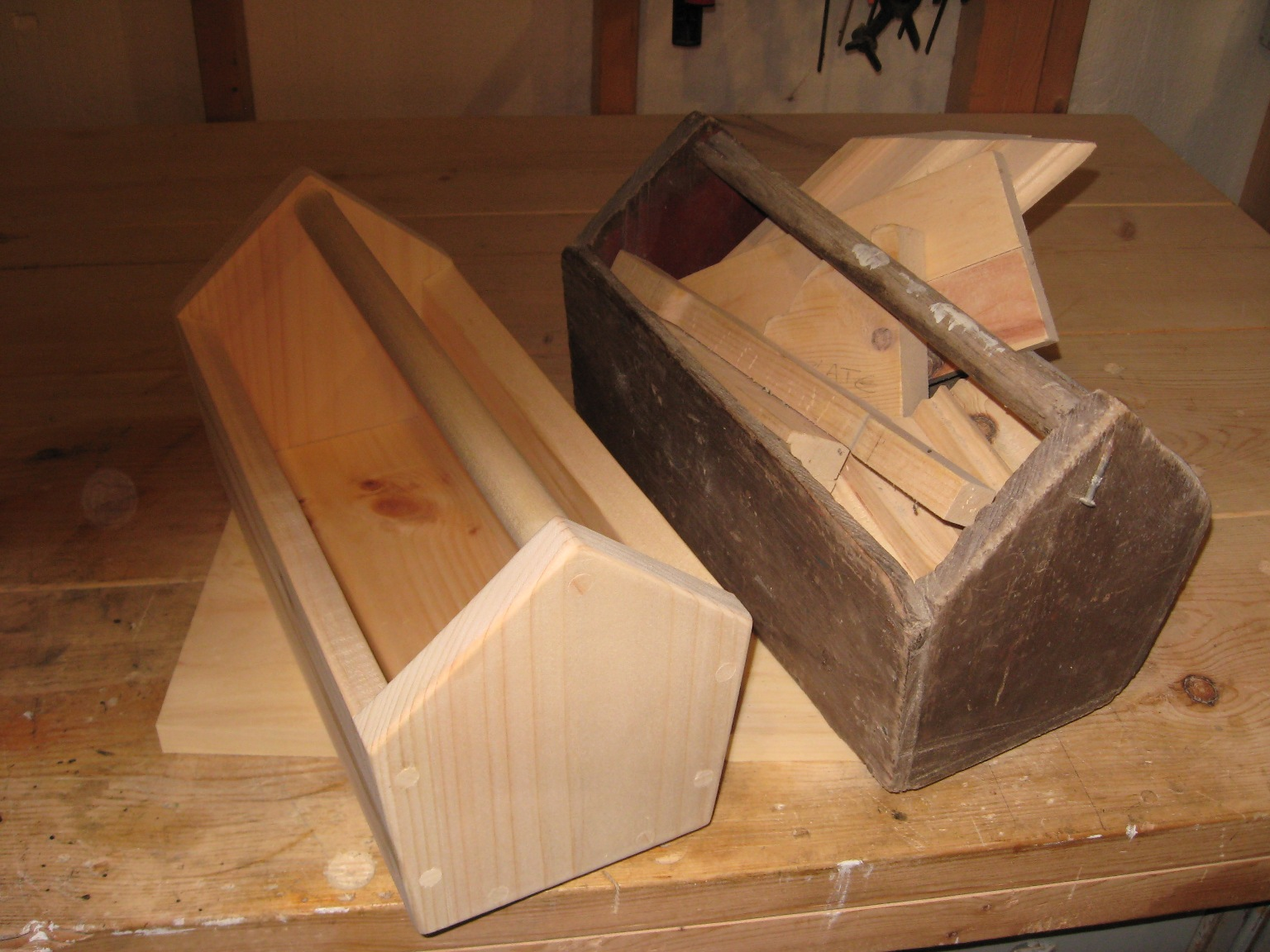 How To Make A Wooden Tool Box | DIY Scrap Lumber Project
