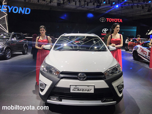 all new yaris Tamanbaru Serang