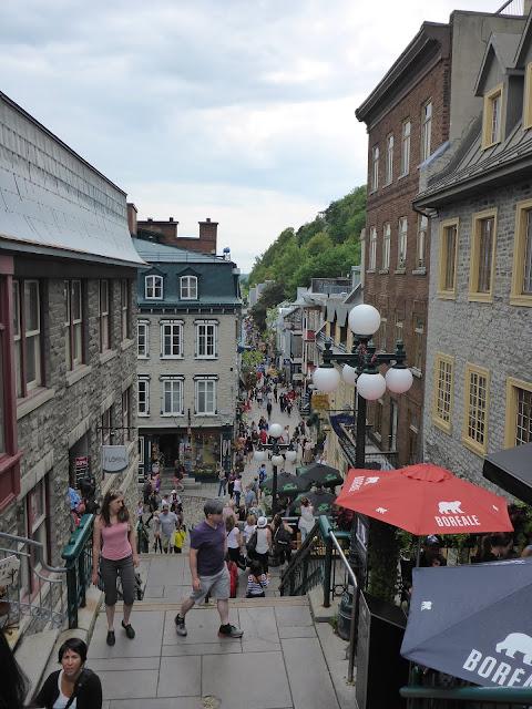 escalier du Casse-Cou Québec