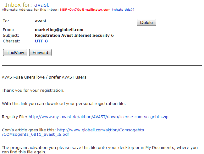 Bhabesh's Blog: Free Avast Internet Security 6 0 License Key