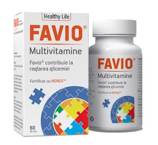 Favio supliment alimentar vitaminizant si mineralizant
