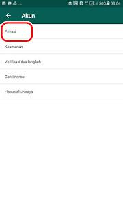 Cara Mematikan dan menghilangkan Status Online di Whatsapp dengan Mudah dan cepat