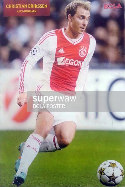 Christian Erikssen Ajax Amsterdam 2012