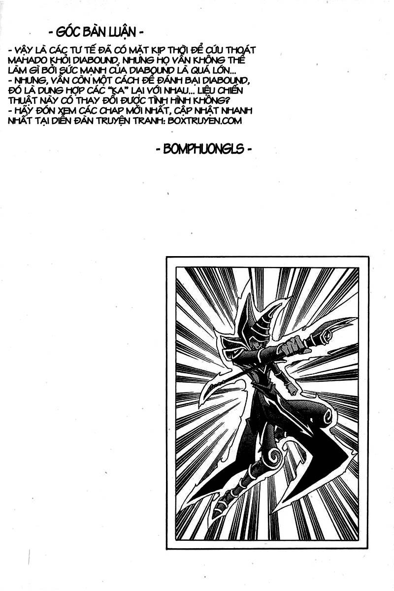 YUGI-OH! chap 317 - sự trở lại của các vị tư tế trang 19