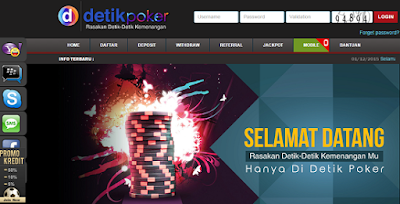 DetikPoker.net Agen Poker Online Domino Kiukiu Terpercaya di Indonesia