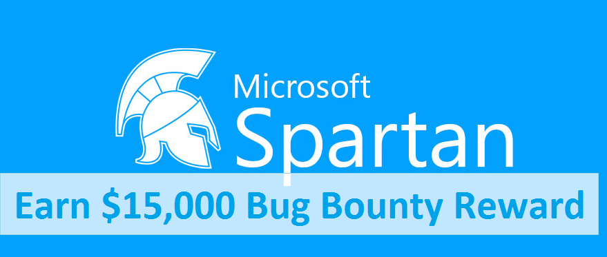Spartan Browser, Microsoft bug bounty, report vulnerability to Microsoft
