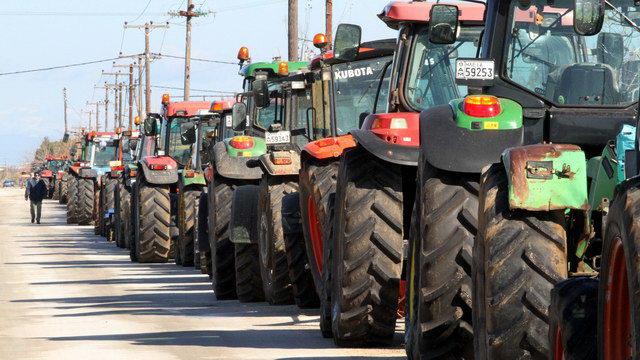 Με νέο κύκλο κινητοποιήσεων συνεχίζουν τον αγώνα τους οι αγρότες