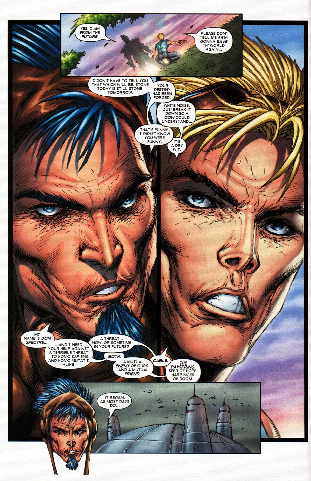 Read online X-Force (2004) comic -  Issue #2 - 10