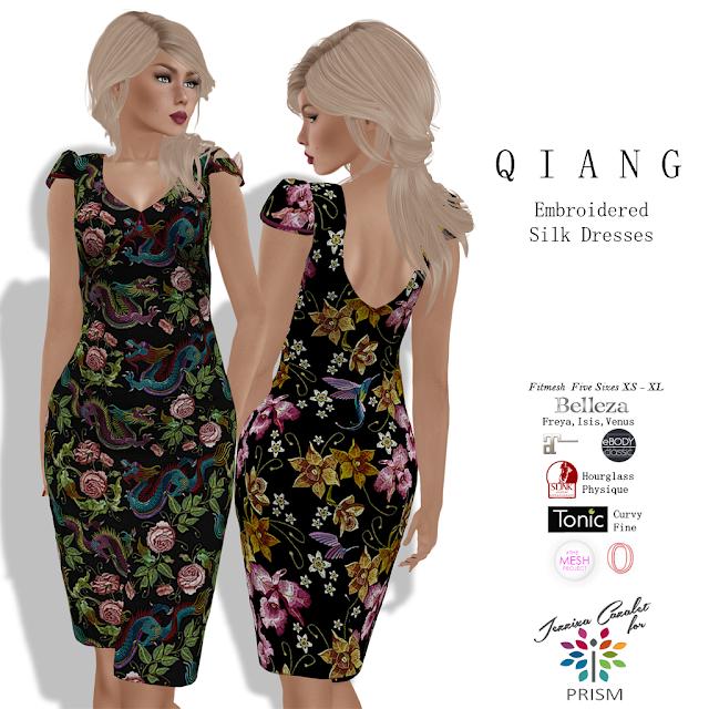 PRISM ~ Designer Circle NEW Exclusive Release by Jezzixa Cazalet Qiang Dresses
