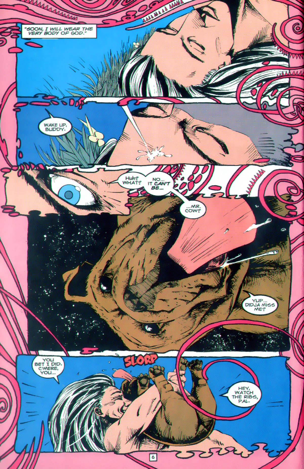 Read online Animal Man (1988) comic -  Issue #89 - 7