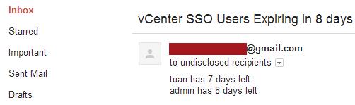Monitoring vCenter SSO User Account Expiration (virtuallyGhetto) - 推酷