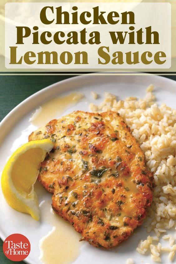 Chicken Piccata With Lemon Sauce