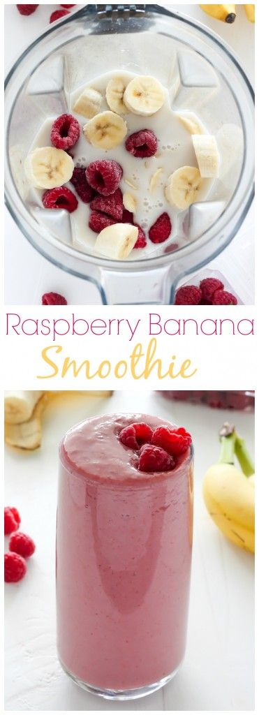 Raspberry Banana Smoothie Recipes