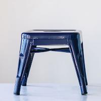 Farmhouse laundry room stool