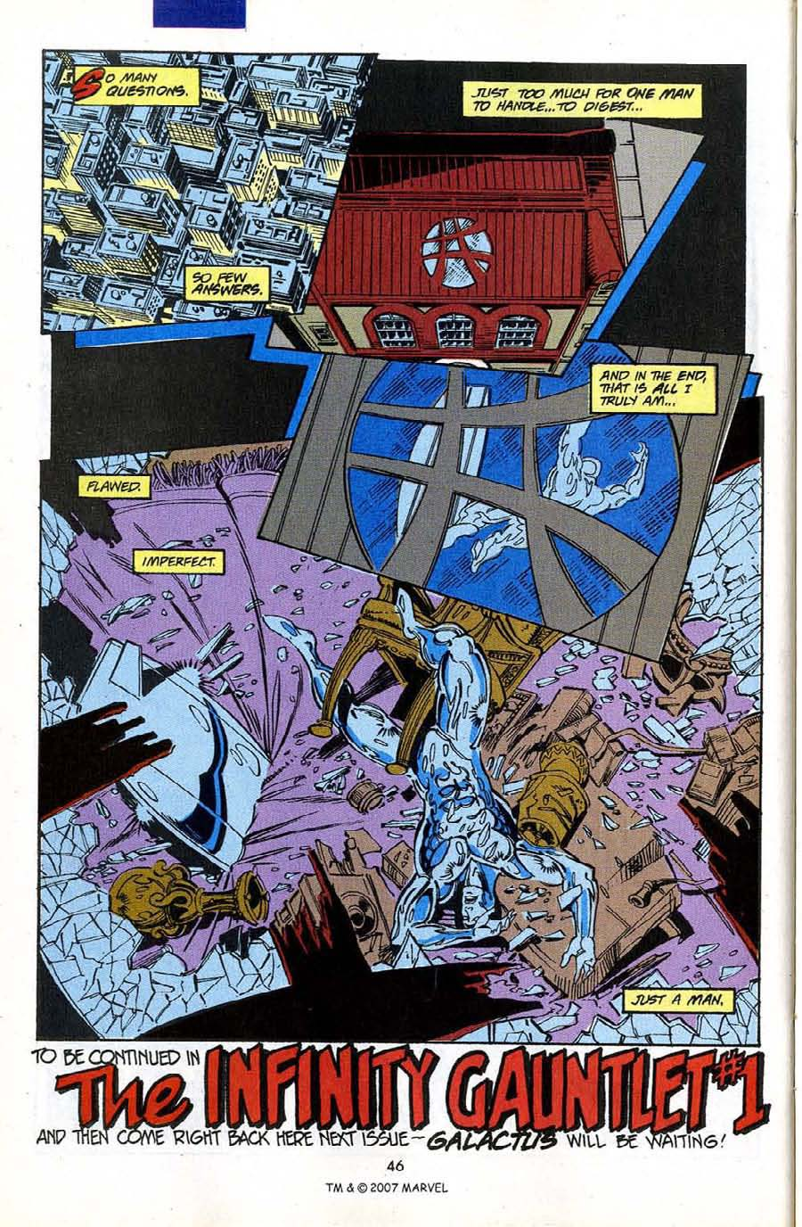 Read online Silver Surfer (1987) comic -  Issue #50 - 48