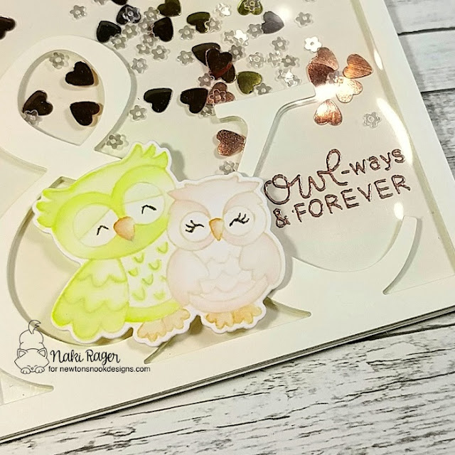 Newton's Nook Designs Love Owl-Ways Set - Naki Rager