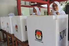 Cangih, Pemilihan Ketua OSIS di SMAN 1 Pati Gunakan Barcode Guna Hindari Pemilih Ganda