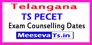 TS PECET Exam Counselling Dates