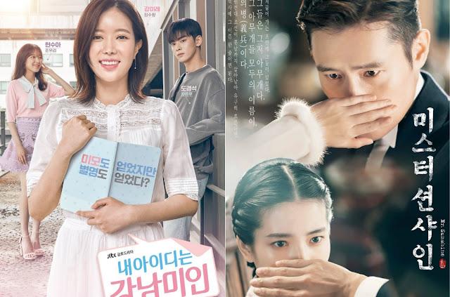 8月第1週韓劇話題熱潮排行榜 《陽光先生》《我的ID是江南美人》佔據一二名