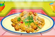 لعبة طبخ الدجاج