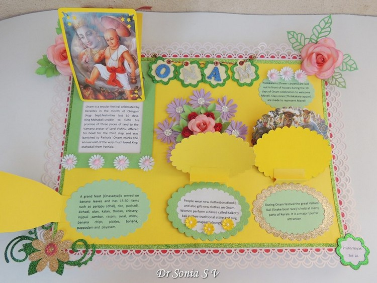 Festivals of india school project also cards crafts kids projects onam rh cardsandschoolprojectsspot