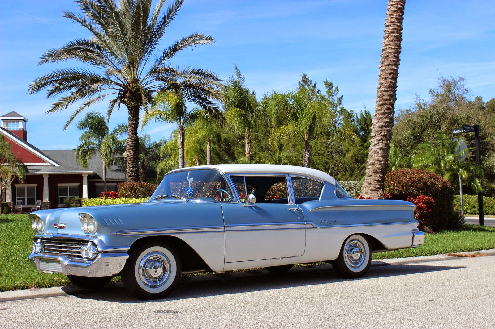 All American Classic Cars: 1958 Chevrolet Biscayne 2-Door