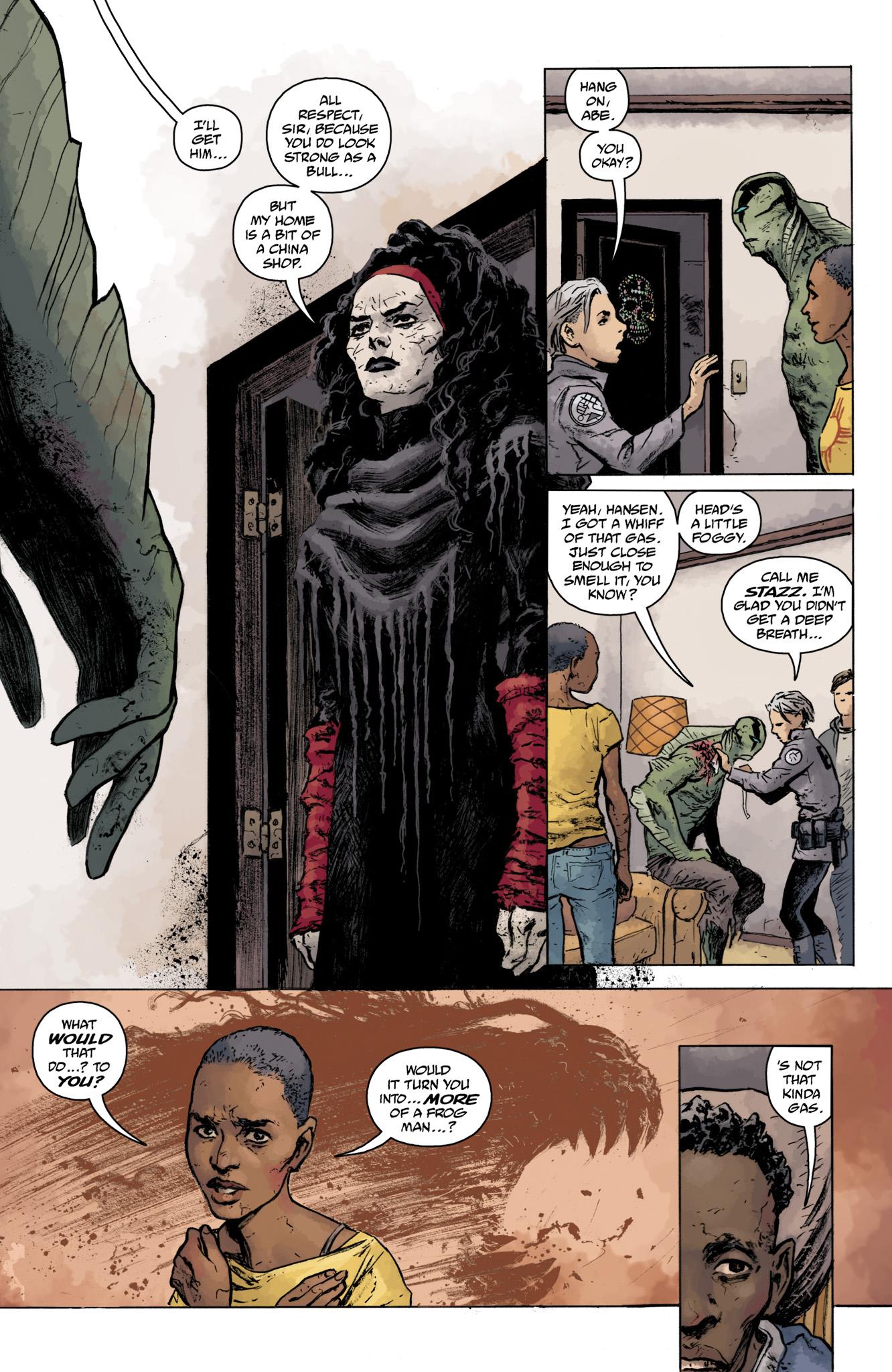 Read online Abe Sapien comic -  Issue #16 - 20