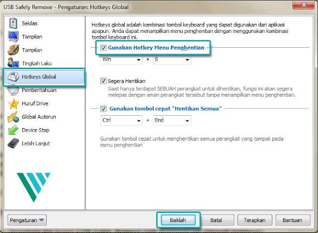 Cara Safely Remove USB Flashdisk Menggunakan Keyboard