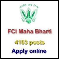 FCI Maha Bharti 2019