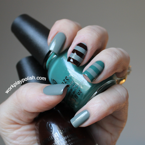 China Glaze Elephant Walk, Exotic Encounters and Prey Tell