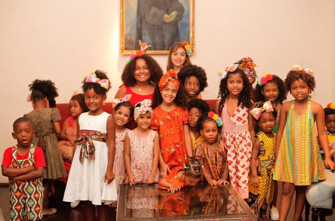 3b3c72a58c A marca Madá Negrif realiza desfile de moda infantil neste sábado no vão  livre do TCA