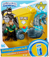 Mattel Fisher Price Imaginext DC Super Friends Aquaman & Seahorse