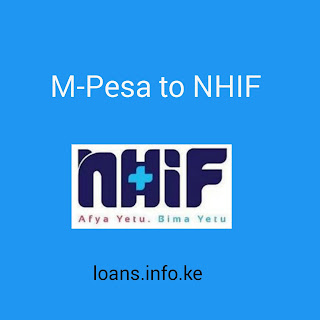 Submit NHIF premiums through mpesa kenya