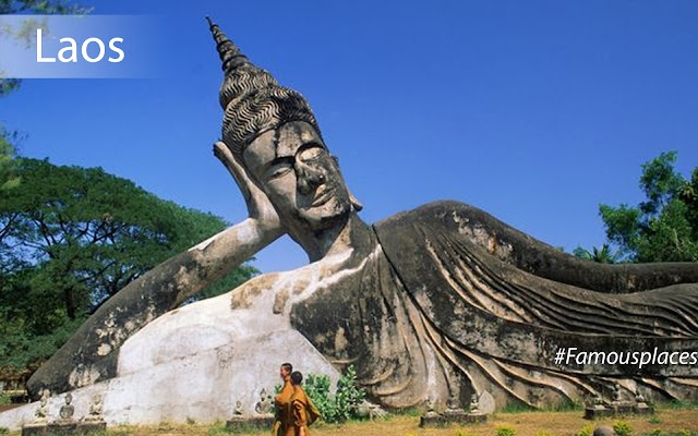 tourist destination in laos