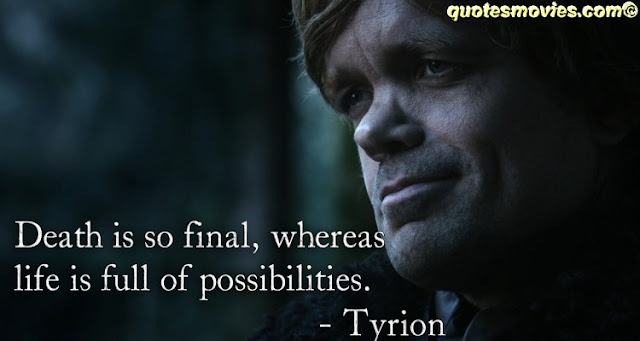 Game of Thrones Quotes Tryion