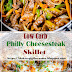 Low Carb Philly Cheesesteak Skillet