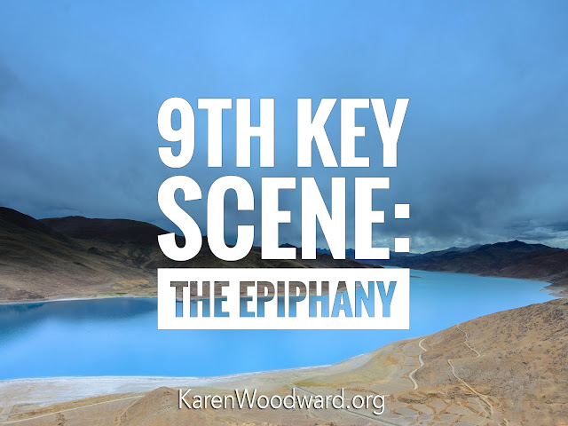 (NaNoWriMo Day 11): 9th Key Scene: The Epiphany