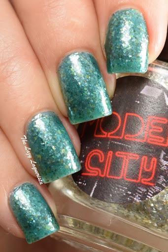 Jelly sandwich nail art