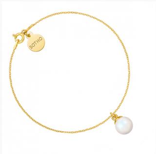 bransoletka z perłą